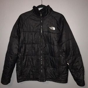 North Face Puffer Black Jacket